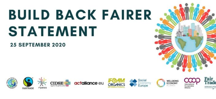 Build Back Fairer Civil Society Statement Recovery