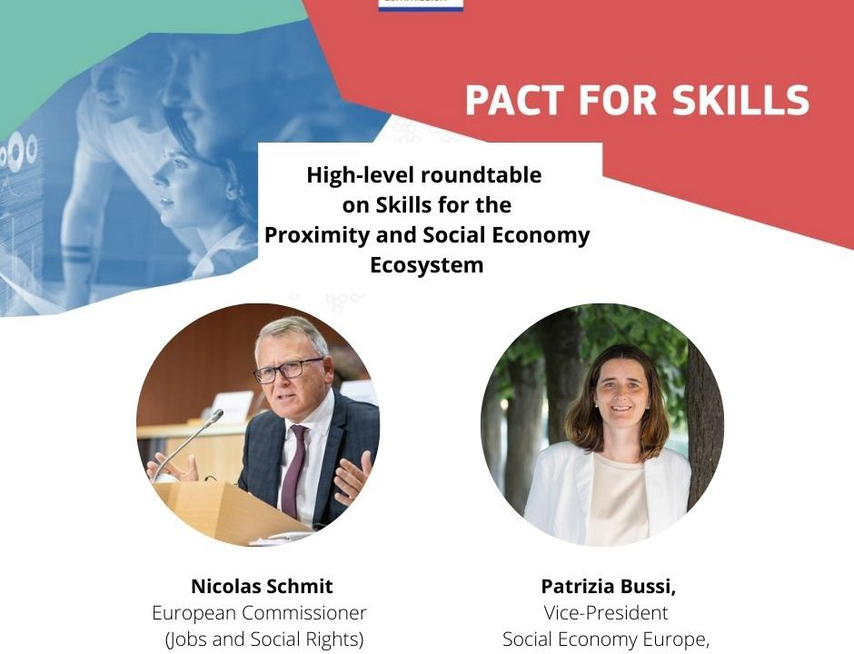 Nicolas Schmit and Patrizia Bussi Pact4Skills